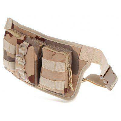 BL025 Water-resistant Nylon 3L Sports Climbing Waist Bag