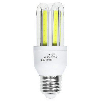 E27 7W 560LM COB U-shaped LED Lampadina