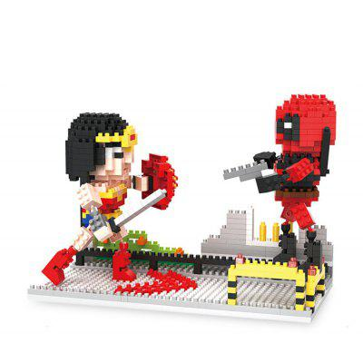 Anime Figure Style ABS Cartoon Building Brick - 661pcs