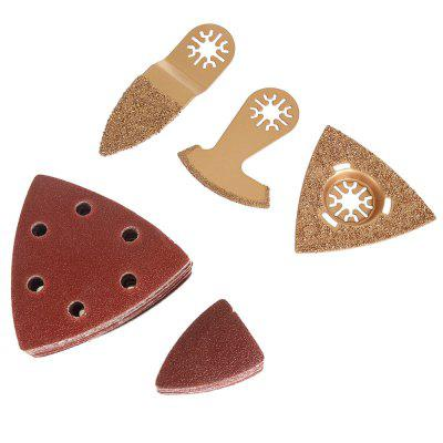 5PCS Carbide Saw Blade Triangular Abrasive Paper