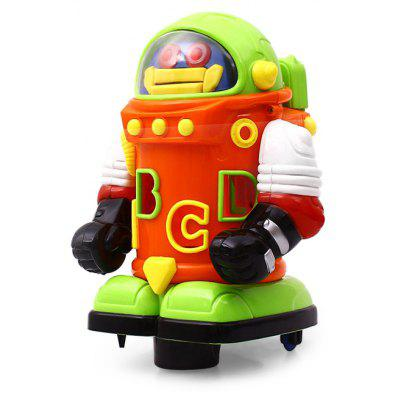 Electronic Walking Education Robot Toy with Light