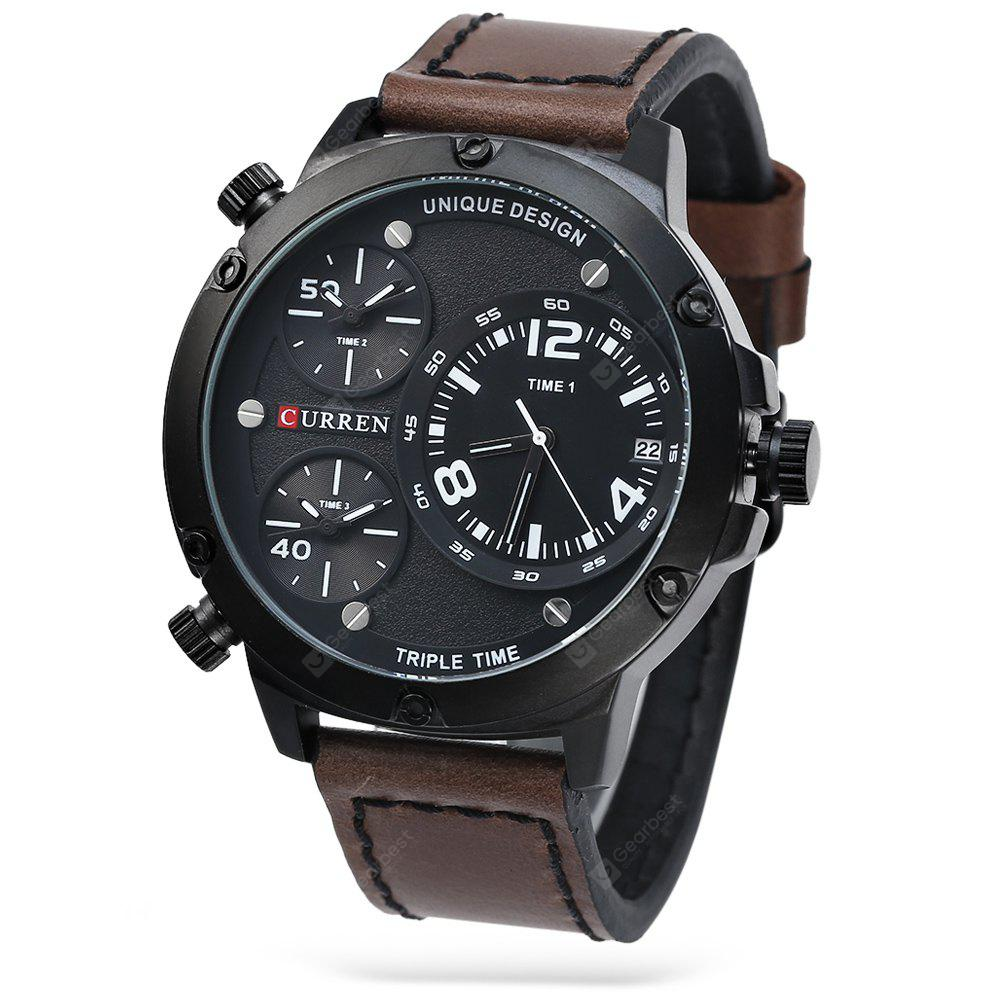 CURREN 8262 Casual Men Quartz Watch