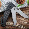 best Stainless Steel Multi-use Folding Knife / Saw with Rope Cutter