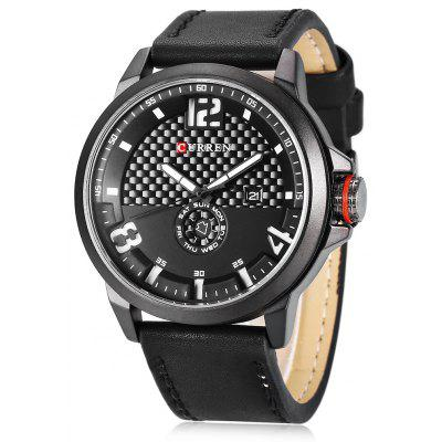 CURREN 8253 Casual Men Quartz Watch