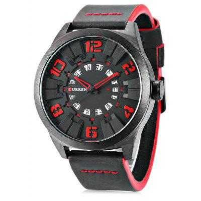 CURREN 8258 Casual Men Quartz Watch