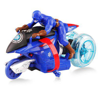 Infrared Remote Control Anime Figure Motor Bike Model