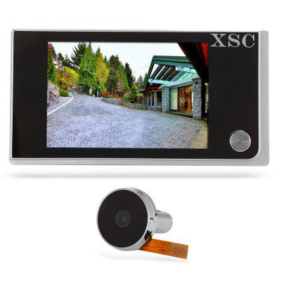 XSC - 250A 2.0MP Digital Door Viewer Camera