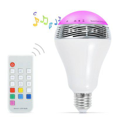 Bluetooth E27 LED Light Bulb Speaker