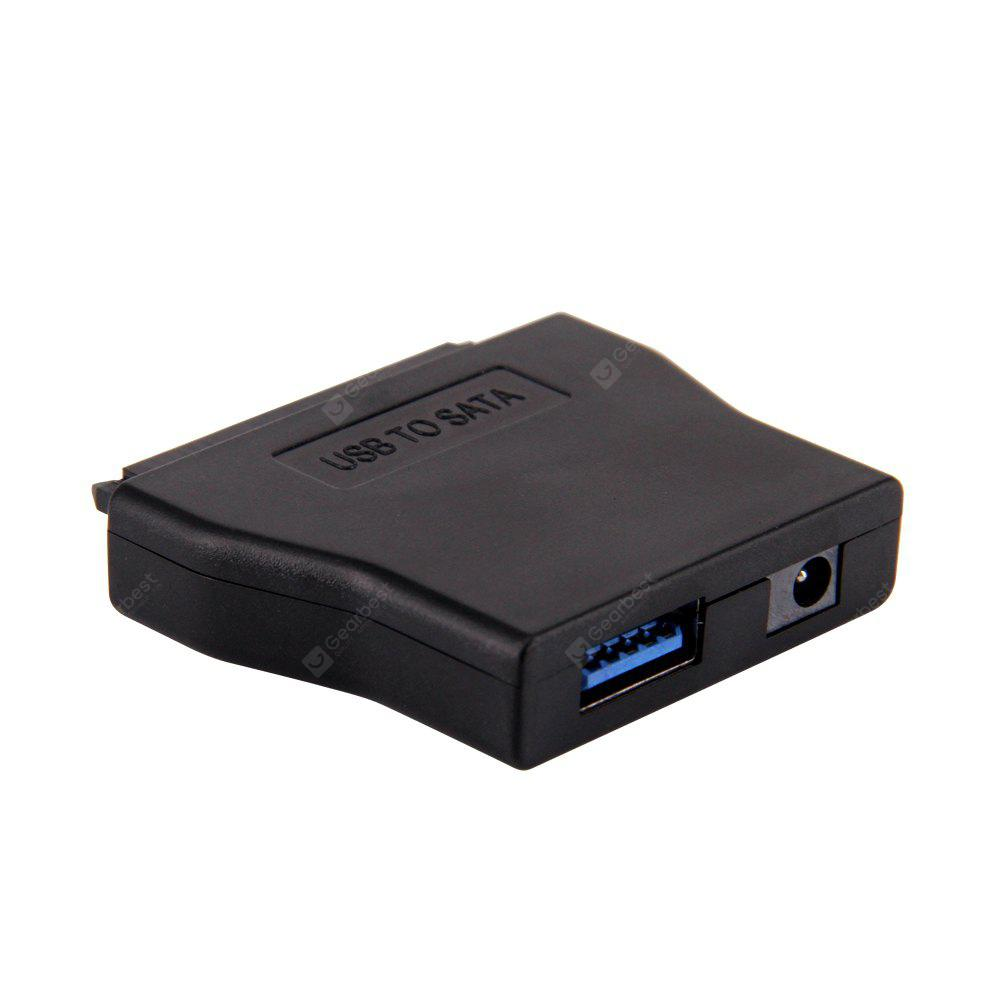 USB3.0 to 2.5 / 3.5 inch HDD SATA Converter with Power Adapter ( AC 100  -  240V ) for DVD - ROM CD - RW DVD - RAW