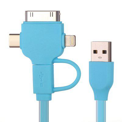 4-in-1 USB Data Sync Charging Cable