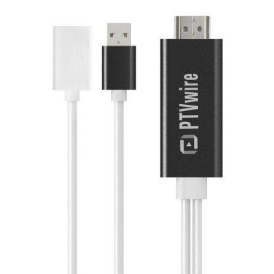 PTVwire CA01F 8 Pin HDMI Cable