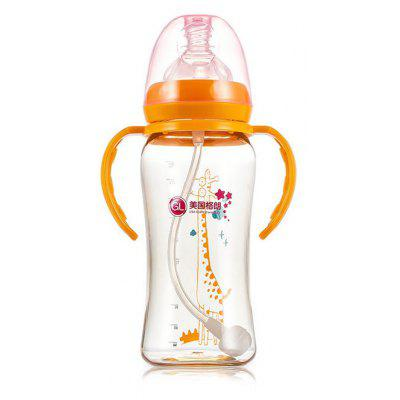 Gland Electronics N - 5 300ml Baby Infant Milk Bottle with Anti-slip Handle