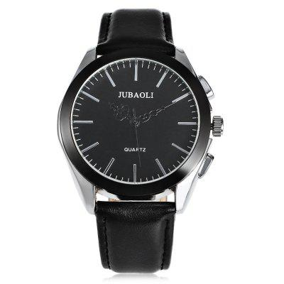 JUBAOLI 1174 Casual Men Quartz WatchMens Watches<br>JUBAOLI 1174 Casual Men Quartz Watch<br><br>Available Color: Black,White<br>Band material: Leather<br>Band size: 25.5 x 2.1 cm / 10.04 x 0.83 inches<br>Brand: Jubaoli<br>Case material: Alloy<br>Clasp type: Pin buckle<br>Dial size: 4.3 x 4.3 x 1.3 cm / 1.69 x 1.69 x 0.51 inches<br>Display type: Analog<br>Movement type: Quartz watch<br>Package Contents: 1 x JUBAOLI 1174 Casual Men Quartz Watch, 1 x Box<br>Package size (L x W x H): 8.50 x 8.00 x 5.30 cm / 3.35 x 3.15 x 2.09 inches<br>Package weight: 0.122 kg<br>Product size (L x W x H): 25.50 x 4.30 x 1.30 cm / 10.04 x 1.69 x 0.51 inches<br>Product weight: 0.058 kg<br>Shape of the dial: Round<br>Watch style: Casual<br>Watches categories: Male table<br>Water resistance: Life water resistant<br>Wearable length: 19 - 23 cm / 7.48 - 9.06 inches