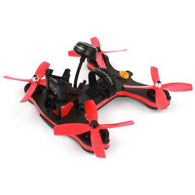 Buy BLACK AND RED Holybro Shuriken 180 PRO FPV Racing Drone RTF for $242.88 in GearBest store