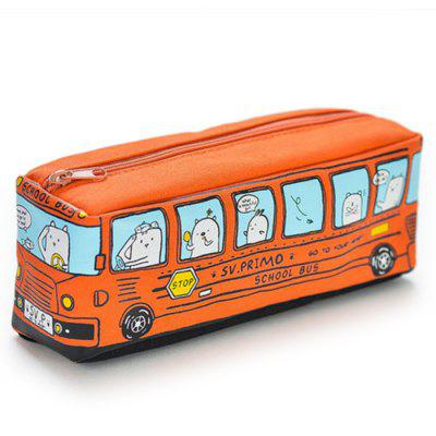 Creative School Bus Style Pen Pouch