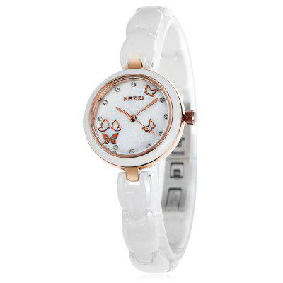 KEZZI KW - 1068 Fashion Lady Ceramic Quartz Watch