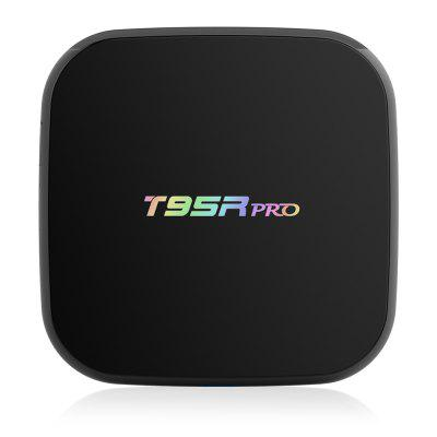 Sunvell T95Rpro Mini Android Box Amlogic S912 Octa CoreTV Box &amp; Mini PC<br>Sunvell T95Rpro Mini Android Box Amlogic S912 Octa Core<br><br>5G WiFi: Yes<br>Audio format: TrueHD, MPEG, WAV, OGA, MP3, FLAC, ACC, OGG<br>Bluetooth: Bluetooth4.0<br>Brand: Sunvell<br>Color: Black<br>Core: Octa Core, 2.0GHz<br>CPU: Amlogic S912<br>Decoder Format: Xvid/DivX3/4/5/6, RM/RMVB, RealVideo8/9/10, HD MPEG1/2/4, Xvid/DivX4/5/6, HD MPEG1/2/4, H.264, H.265/AVC, HD AVC/VC-1<br>External Subtitle Supported: No<br>GPU: ARM Mali-T820MP3<br>HDMI Version: 2.0<br>Interface: USB2.0, HDMI, SD Card Slot, RJ45, Optical, AV, DC Power Port<br>Language: Multi-language<br>Model: T95Rpro<br>Other Functions: Others<br>Package Contents: 1 x Sunvell T95Rpro TV Box, 1 x Remote Control, 1 x HDMI Cable, 1 x Power Adapter, 1 x English Manual<br>Package size (L x W x H): 21.00 x 14.00 x 5.50 cm / 8.27 x 5.51 x 2.17 inches<br>Package weight: 0.520 kg<br>Photo Format: BMP, GIF, JPEG, PNG, TIFF<br>Power Adapter Output: 5V 2A<br>Power Input Vol: 5V<br>Power Supply: Charge Adapter<br>Power Type: External Power Adapter Mode<br>Product size (L x W x H): 13.00 x 13.00 x 3.00 cm / 5.12 x 5.12 x 1.18 inches<br>Product weight: 0.400 kg<br>RAM: 2G<br>RAM Type: DDR3<br>ROM: 16G<br>Support 5.1 Surround Sound Output: No<br>System: Android 6.0<br>System Bit: 64Bit<br>Type: TV Box<br>Video format: 4K, 4K x 2K, 1080P, RMVB, VP9 Profile-2, AVC, AVI, MVC, RM, MPEG4, VP9, VP9-10 Profile-2, WMV, MPEG2, MPEG1, MPEG-4, MPEG-1, MPEG, MP4, MOV, MKV, MJPEG, FLV, AVS, MPG