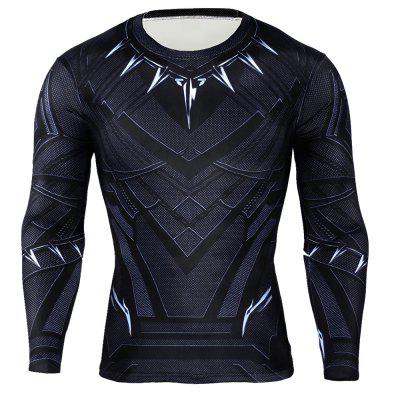 Classic 3D Cartoon Hero Print Tight Fitness Training T-shirtWeight Lifting Clothes<br>Classic 3D Cartoon Hero Print Tight Fitness Training T-shirt<br><br>Color: Black, Black<br>Features: High elasticity, Quick Dry, High elasticity, Breathable, Quick Dry<br>Gender: Men, Men<br>Material: Polyester, Polyester<br>Package Content: 1 x T-shirt , 1 x T-shirt<br>Package size: 40.00 x 30.00 x 1.00 cm / 15.75 x 11.81 x 0.39 inches, 40.00 x 30.00 x 1.00 cm / 15.75 x 11.81 x 0.39 inches<br>Package weight: 0.2200 kg, 0.2200 kg<br>Product weight: 0.1600 kg, 0.1600 kg<br>Size: 2XL,3XL,L,M,XL<br>Types: Long Sleeves