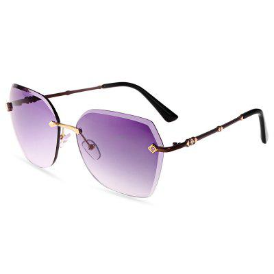 940 UV-resistant Stylish Sunglasses Goggle with PC Lens