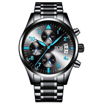 ANGELA BOS 8012G Business Men Quartz Watch