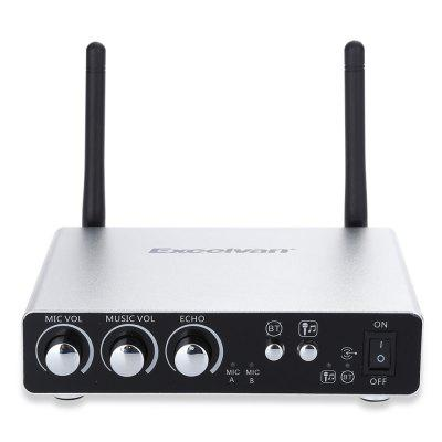 Excelvan K28 Dual Channel Transmitter MicrophoneMicrophone<br>Excelvan K28 Dual Channel Transmitter Microphone<br><br>Bluetooth: Support<br>Brand: EXCELVAN<br>Cable Length (cm): No<br>Connection: Wireless<br>Frequency Range: 50Hz - 18kHz<br>Impedance: 13ohms<br>Mainly Compatible with: Windows XP, Windows Vista, Windows ME, Windows 98SE, Windows 98, Windows 7, Windows 2000, Mac OS, Linux<br>Package Contents: 1 x Transmitter, 2 x Handheld Microphone, 2 x Audio Cable, 2 x Microphone Ring, 1 x USB Cable, 1 x 3.5mm Female to 2RCA Male Cable, 1 x English User Manual<br>Package size (L x W x H): 27.50 x 12.00 x 16.50 cm / 10.83 x 4.72 x 6.5 inches<br>Package weight: 1.179 kg<br>Product weight: 0.965 kg<br>Type: Wireless