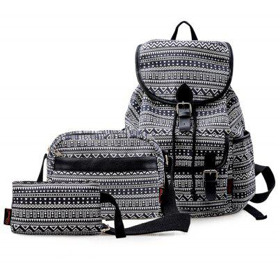 Douguyan Backpack Sling Bag Handbag Set
