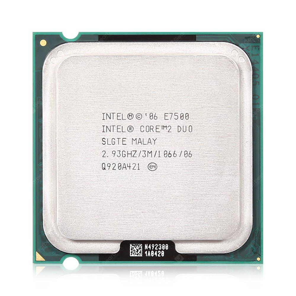 Intel Core I2 E7500 Dual Core Cpu 11 92 Free Shipping