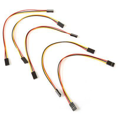 5PCS Female to Female 3 Pin Jumper Cable for Arduino