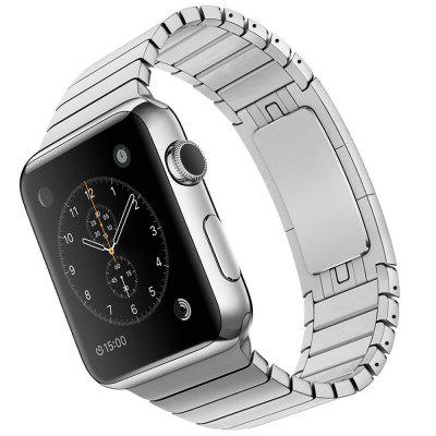 Stainless Steel WatchbandApple Watch Bands<br>Stainless Steel Watchband<br><br>Color: Black,Silver<br>Function: for Apple Watch 42mm<br>Material: Stainless Steel<br>Package Contents: 1 x Watchband, 1 x Pin<br>Package size: 24.50 x 7.90 x 1.50 cm / 9.65 x 3.11 x 0.59 inches<br>Package weight: 0.095 kg<br>Product size: 19.50 x 3.50 x 0.30 cm / 7.68 x 1.38 x 0.12 inches<br>Product weight: 0.072 kg