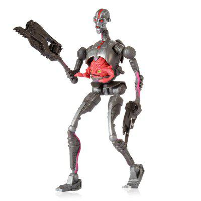 Movable Joint Robot Shape Movie Figure - 5.51 inch
