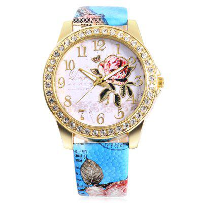 Fashion Rhinestone Scale Rose Pattern Dial Lady Quartz WatchWomens Watches<br>Fashion Rhinestone Scale Rose Pattern Dial Lady Quartz Watch<br><br>Available Color: Blue,Coffee,Gray,Pink,Red,Rose Red,White<br>Band material: PU Leather<br>Band size: 24.5 x 2 cm / 9.65 x 0.79 inches<br>Case material: Alloy<br>Clasp type: Pin buckle<br>Dial size: 4.2 x 4.2 x 0.5 cm / 1.65 x 1.65 x 0.20 inches<br>Display type: Analog<br>Movement type: Quartz watch<br>Package Contents: 1 x Fashion Lady Quartz Watch<br>Package size (L x W x H): 25.50 x 5.20 x 1.50 cm / 10.04 x 2.05 x 0.59 inches<br>Package weight: 0.085 kg<br>Product size (L x W x H): 24.50 x 4.20 x 0.50 cm / 9.65 x 1.65 x 0.2 inches<br>Product weight: 0.045 kg<br>Shape of the dial: Round<br>Watch style: Fashion<br>Watches categories: Female table<br>Wearable length: 17.8 - 20.2 cm / 7.01 - 7.95 inches