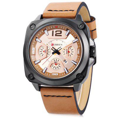 CURREN 8260 Men Quartz Watch