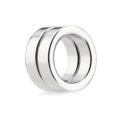 19 x 19 x 5mm N52 Powerful NdFeB Ring Style Magnet