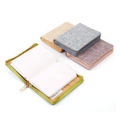 Delicate Linen NotebookNotebooks &amp; Pads<br>Delicate Linen Notebook<br><br>Material: Paper<br>Package Contents: 1 x Notebook<br>Package size (L x W x H): 22.00 x 25.00 x 3.00 cm / 8.66 x 9.84 x 1.18 inches<br>Package weight: 0.362 kg<br>Product size (L x W x H): 14.20 x 10.30 x 2.00 cm / 5.59 x 4.06 x 0.79 inches<br>Product weight: 0.280 kg<br>Type: Others