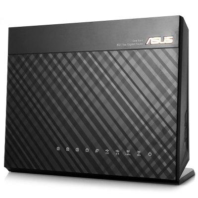 ASUS RT-AC68U Wireless RouterWireless Routers<br>ASUS RT-AC68U Wireless Router<br><br>Brand: ASUS<br>DC Port: 5.5 x 2.5, 5.5 x 2.5<br>Features: Broadband, Broadband<br>Freq: 50Hz-60Hz, 50Hz-60Hz<br>Interface: RJ45, USB 3.0, RJ45, USB 3.0<br>LAN Ports: 4 ports, 4 ports<br>Language: Chinese,English, Chinese,English<br>Max. LAN Data Rate: 1200Mbps above, 1200Mbps above<br>Model: RT-AC68U, RT-AC68U<br>Network Protocols: IEEE 802.11a,IEEE 802.11ac,IEEE 802.11b,IEEE 802.11g,IEEE 802.11n, IEEE 802.11a,IEEE 802.11ac,IEEE 802.11b,IEEE 802.11g,IEEE 802.11n<br>Package size: 30.50 x 23.20 x 9.50 cm / 12.01 x 9.13 x 3.74 inches, 30.50 x 23.20 x 9.50 cm / 12.01 x 9.13 x 3.74 inches<br>Package weight: 1.5020 kg, 1.5020 kg<br>Packing List: 1 x ASUS RT-AC68U Wireless Router, 1 x RJ-45 Cable, 1 x Power Adapter, 3 x Antenna, 1 x CD, 1 x 7 Languages Manual (English, Simplified Chinese, Traditional Chinese, Japanese, Bahasa Indonesia, Bahasa, 1 x ASUS RT-AC68U Wireless Router, 1 x RJ-45 Cable, 1 x Power Adapter, 3 x Antenna, 1 x CD, 1 x 7 Languages Manual (English, Simplified Chinese, Traditional Chinese, Japanese, Bahasa Indonesia, Bahasa<br>Product size: 22.00 x 16.00 x 8.50 cm / 8.66 x 6.3 x 3.35 inches, 22.00 x 16.00 x 8.50 cm / 8.66 x 6.3 x 3.35 inches<br>Product weight: 0.6380 kg, 0.6380 kg<br>Quantity of Antenna: 3, 3<br>Router Connectivity Type: Ethernet, Wireless, Wireless, Ethernet<br>Speed of Ethernet Port: 1000Mbps, 1000Mbps<br>Supports System: Windows 8, Win 2000, Windows 8.1, Mac OS, Windows 8, Windows 7, Windows 7, Win vista, Win vista, Win 2000, Mac OS, Linux, Windows 8.1, Linux<br>Transmission Rate: 1900Mbps, 1900Mbps<br>Type: Router, Router<br>Usage: Home use, Home use<br>WiFi Distance: 550m, 550m<br>Wireless Security: 64/128 Bit WEP, WPA-PSK, WPA, WPA, 64/128 Bit WEP, WPA-PSK, WPA2, WPA2, WPA2-PSK, WPS, WPS, WPA2-PSK<br>Wireless Standard: Wireless AC,Wireless G,Wireless N, Wireless AC,Wireless G,Wireless N<br>Working Voltage: 12V 2.5A, 12V 2.5A