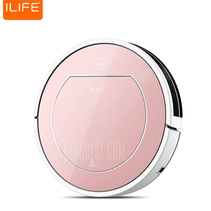 ILIFE V7S Pro Smart Robotic Vacuum Cleaner - ROSE GOLD EU PLUG в магазине GearBest