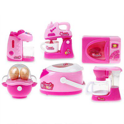 Housekeeping Toy Simulation Appliance - 6pcs / set