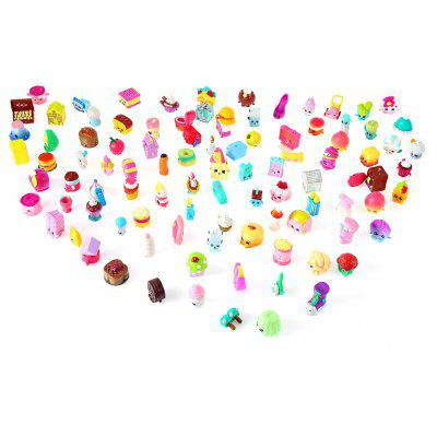 Figurine en PVC ABS + PVC Modèle Figure d'action - 100pcs / Ensemble
