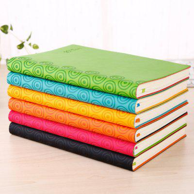Creative A5 NotebookNotebooks &amp; Pads<br>Creative A5 Notebook<br><br>Material: Paper<br>Package Contents: 1 x Notebook<br>Package size (L x W x H): 22.00 x 23.50 x 4.50 cm / 8.66 x 9.25 x 1.77 inches<br>Package weight: 0.510 kg<br>Product size (L x W x H): 21.00 x 14.80 x 3.00 cm / 8.27 x 5.83 x 1.18 inches<br>Product weight: 0.362 kg<br>Type: Others