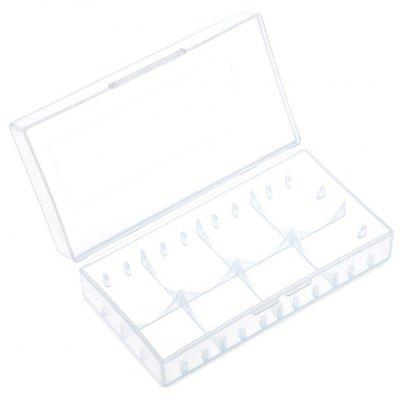 AYA - 1203 Translucent Plastic 18650 Battery Storage Organizer