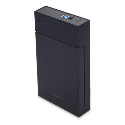 Blueendless BS - MR35T Portable Hard Drive EnclosureHDD Enclosure<br>Blueendless BS - MR35T Portable Hard Drive Enclosure<br><br>Brand: Blueendless<br>Control Chip: JMS567<br>External Interface: USB3.0<br>Hot Plug: Support<br>Model: BS - MR35T<br>Package Size(L x W x H): 21.50 x 18.20 x 6.20 cm / 8.46 x 7.17 x 2.44 inches<br>Package weight: 0.508 kg<br>Packing List: 1 x Hard Drive Enclosure, 1 x Power Supply, 1 x USB Cable, 1 x Chinese Manual<br>Product Size(L x W x H): 19.50 x 12.00 x 3.30 cm / 7.68 x 4.72 x 1.3 inches<br>Product weight: 0.362 kg<br>Size: 3.5 inch<br>Supporting Max. Hard Drive Capacity: 6TB<br>System support: Windows, Mac OS<br>Tool Free: Support