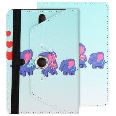 SZKINSTON Elephant Love Style Protective Case for 7.0 / 8.0 inch Tablet PC