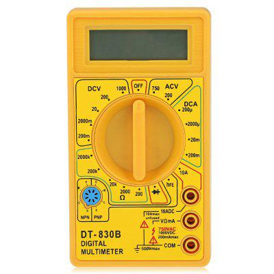 DT - 830B 1999 Digital Multimeter Handheld AC / DC Tester