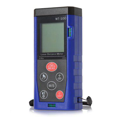 WT - 100 100m Digital Infrared Handheld Laser Distance Meter