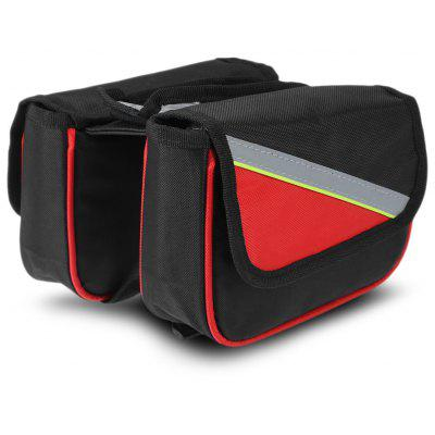 Bicycle Touchscreen Front Tube Bag