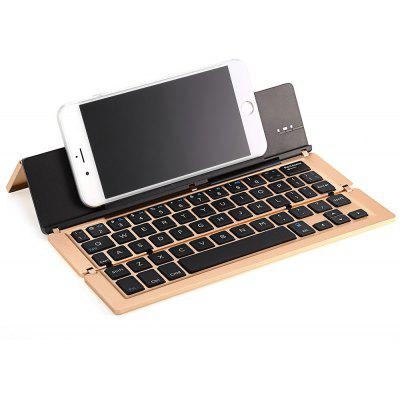F18 Foldable Bluetooth Keyboard for Tablets Smart Phones