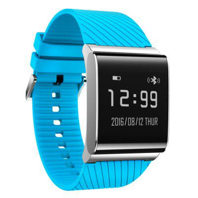 X9 Plus BLE 4.0 Smart WristbandSmart Watches<br>X9 Plus BLE 4.0 Smart Wristband<br><br>Alert type: Vibration<br>Anti-lost: Yes<br>Available Color: Black,Blue,Green,Red,Silver,White<br>Band material: Rubber<br>Band size: 25.5 x 2.8 cm / 10.04 x 1.10 inches<br>Battery  Capacity: 105mAh<br>Bluetooth calling: Phone call reminder<br>Bluetooth Version: Bluetooth 4.0<br>Case material: Alloy<br>Charging Time: About 90mins<br>Compatability: Android 4.3 / iOS 7.0 and above systems<br>Compatible OS: Android, IOS<br>Dial size: 3.05 x 2.95 x 1.08 cm / 1.2 x 1.16 x 0.43 inches<br>Health tracker: Heart rate monitor,Pedometer,Sedentary reminder,Sleep monitor<br>IP rating: IP67<br>Messaging: Message reminder<br>Operating mode: Touch Screen<br>Other Function: Alarm<br>Package Contents: 1 x X9 Plus Smart Wristband, 1 x Charging Cable, 1 x Chinese and English User Manual<br>Package size (L x W x H): 9.10 x 9.20 x 6.60 cm / 3.58 x 3.62 x 2.6 inches<br>Package weight: 0.1680 kg<br>People: Female table,Male table<br>Product size (L x W x H): 25.50 x 2.95 x 1.08 cm / 10.04 x 1.16 x 0.43 inches<br>Product weight: 0.0480 kg<br>Screen: OLED<br>Screen size: 0.95 inch<br>Shape of the dial: Rectangle<br>Standby time: 20 days<br>Type of battery: Li-polymer Battery<br>Waterproof: Yes