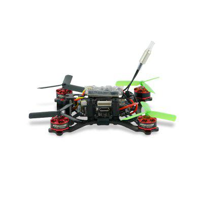KingKong 90GT 90mm Mini Brushless FPV Racing Drone - BNFBrushless FPV Racer<br>KingKong 90GT 90mm Mini Brushless FPV Racing Drone - BNF<br><br>Battery (mAh): 350mAh 7.4V 2S lithium-ion ( included )<br>Brand: KingKong<br>CW / CCW: CCW,CW<br>Firmware: BLHeli-S<br>KV: 7800<br>Model: 1103<br>Package Contents: 1 x Drone, 4 x Spare Propeller, 1 x Wrench, 1 x 7.4V 350mAh Lithium-ion Battery, 1 x USB Charging Cable<br>Package size (L x W x H): 18.00 x 14.00 x 8.00 cm / 7.09 x 5.51 x 3.15 inches<br>Package weight: 0.5250 kg<br>Product size (L x W x H): 8.20 x 8.20 x 2.80 cm / 3.23 x 3.23 x 1.1 inches<br>Sensor: CMOS<br>Size: Micro<br>Type: Frame Kit<br>Version: BNF<br>Video Resolution: 800TVL