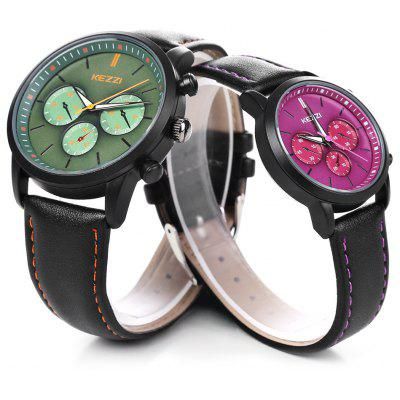 KEZZI K - 1619 Couple Watches