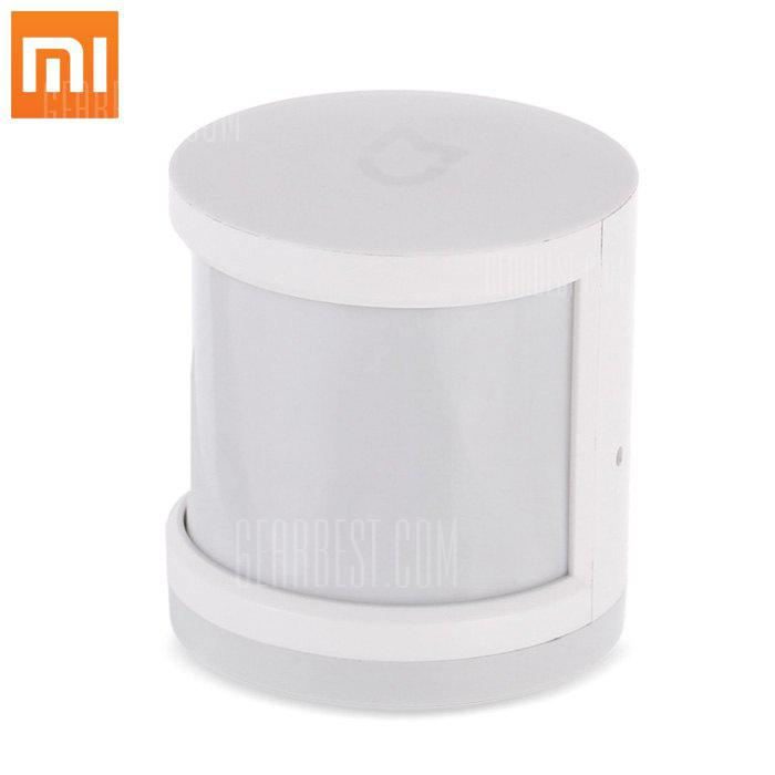 Original Xiaomi Smart Human Body Sensor - WHITE SMART HUMAN BODY SENSOR (pour nouvel client )